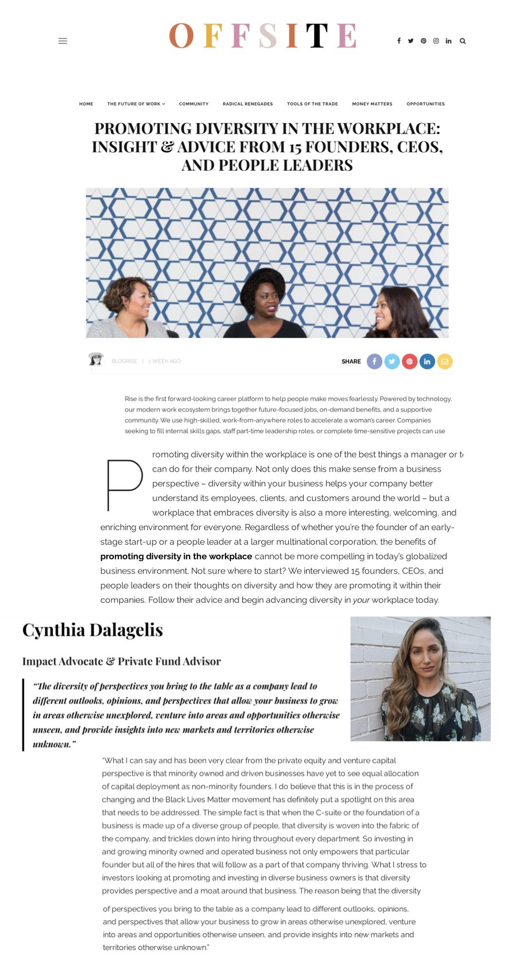 Cynthia Dalagelis